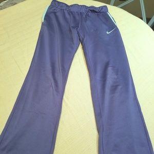 Girl's Nike Athletic Pants Blue